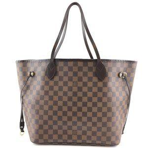 Louis Vuitton Neverfull Mm Tote Shoulder Bag